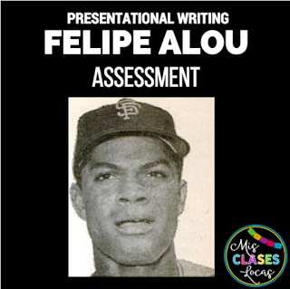 We are going to take a little break from the Tumba -thon to talk about what we are currently reading in Spanish II, Felipe Alou: Desde los...