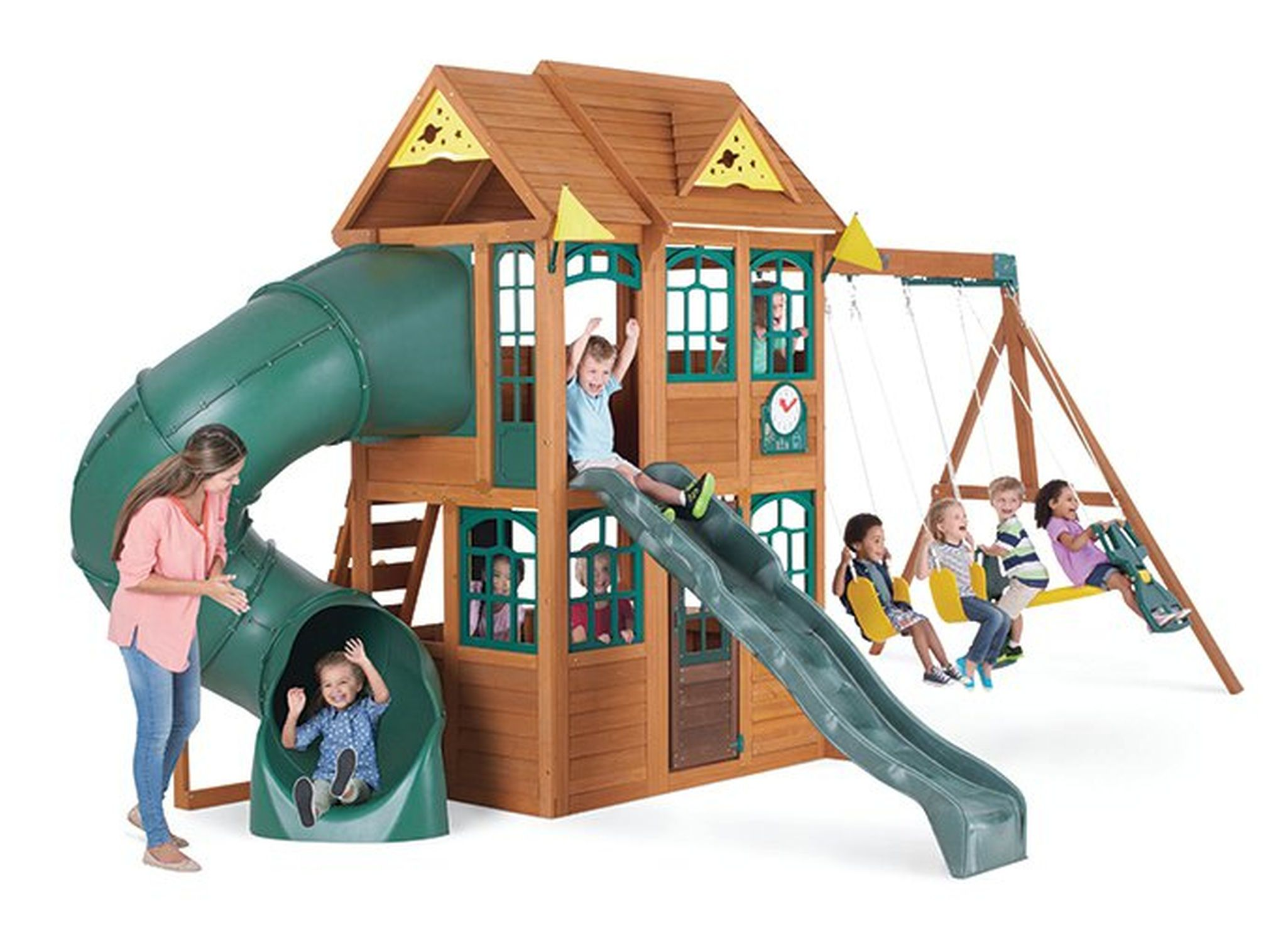 Small Of Big Backyard Playhouse