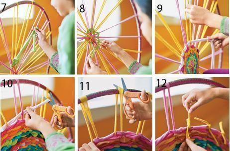 Hula Hoop Rug * http://familyfun.go.com/crafts/hula-hoop-rug-995304/