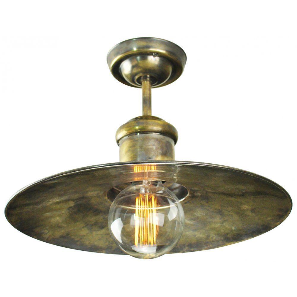 Edison lighting edison large semi flush fitting nautical style edison lighting edison large semi flush fitting nautical style ceiling light antique aloadofball Images
