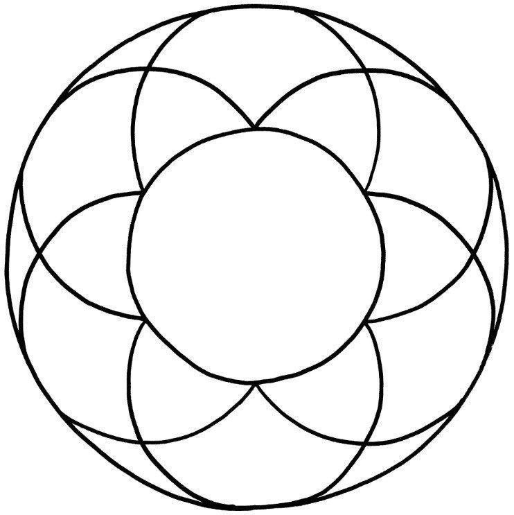 mandalas zum ausdrucken und ausmalen mit blumen motiven