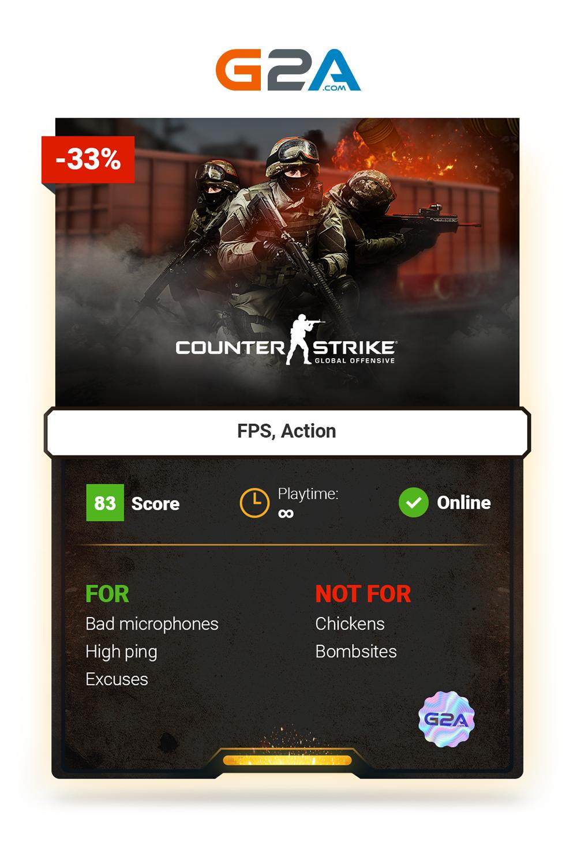 Counter Strike Global Offensive FPS action cs CSGO