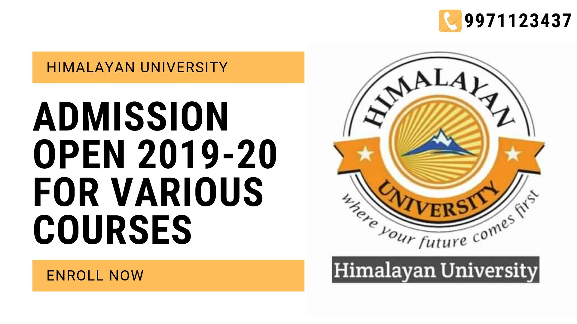 Himalayan University Distance Education Admission Open 2019 20 Distance Learning Education University University