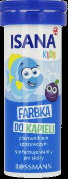 Isana Kids Farbka Do Kapieli Niebieska 10 Szt Internetowa Drogeria Rossmann Zakupy Online Kids Beverage Can 10 Things