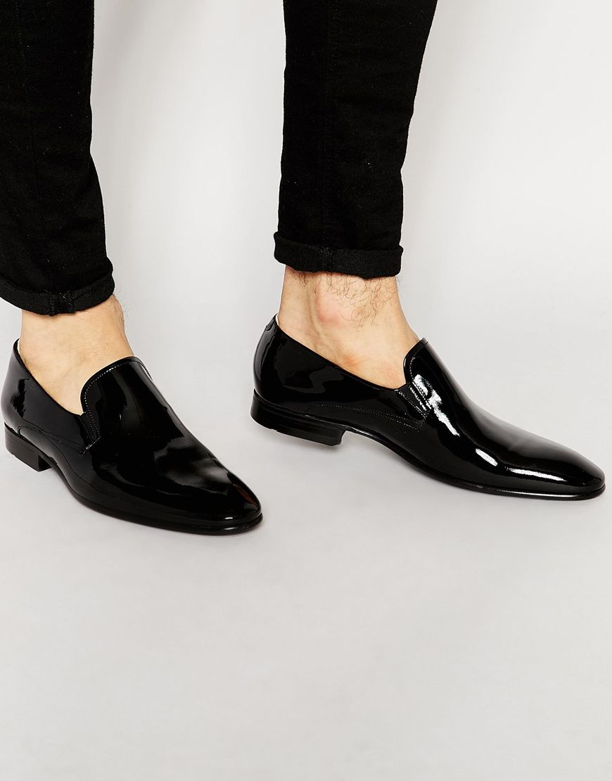 Buy Men Shoes / Boss Black Eve Patent Slip On Shoes