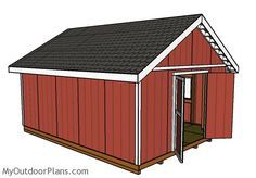 16x20 Shed Plans Free Diy Shed Plans Building A Shed Shed Plans