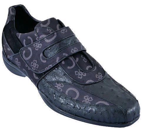 men's casual shoes los altos handmade velcro « clothing