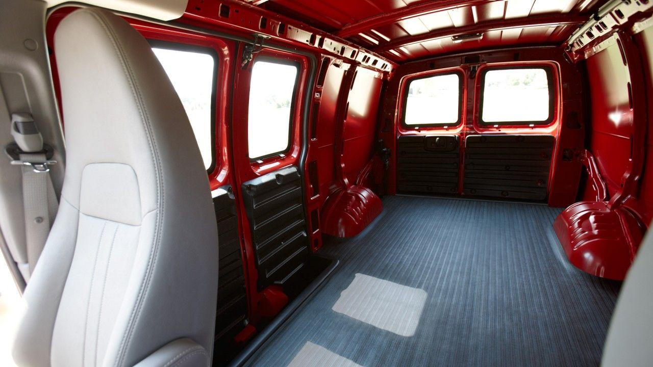 Chevrolet Express Cargo Van Interior Van Interior Vans