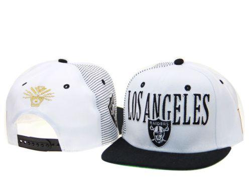 cb79aff4c Oakland Raiders Tisa Snapbacks Hats White 200 9428
