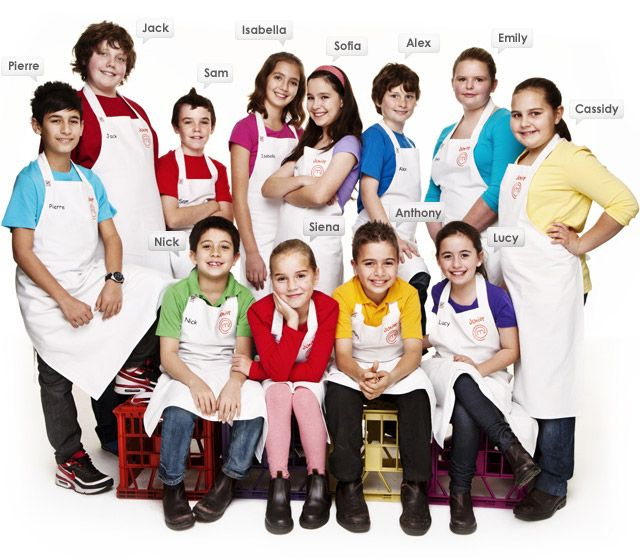 Top 12 Of Junior Masterchef Australia 2010 Masterchef Junior Masterchef Australia Masterchef