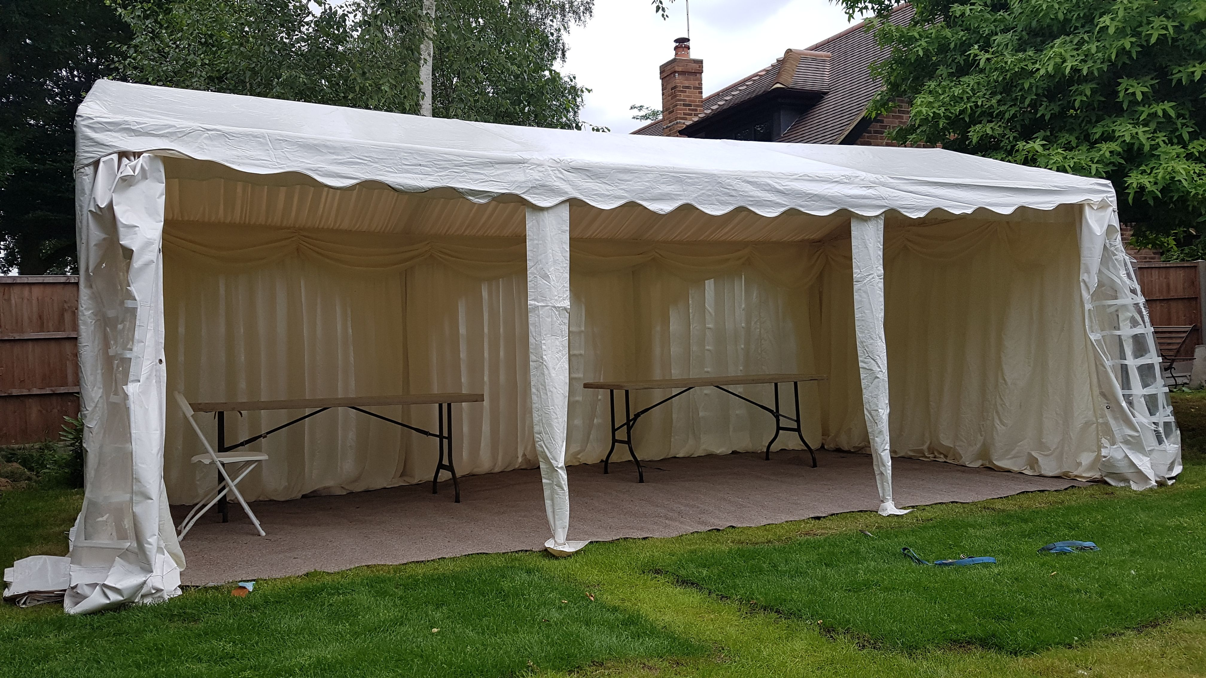 For Sale 3m Wide By 6m Long Dancover Pvc Marquee 150 With Images