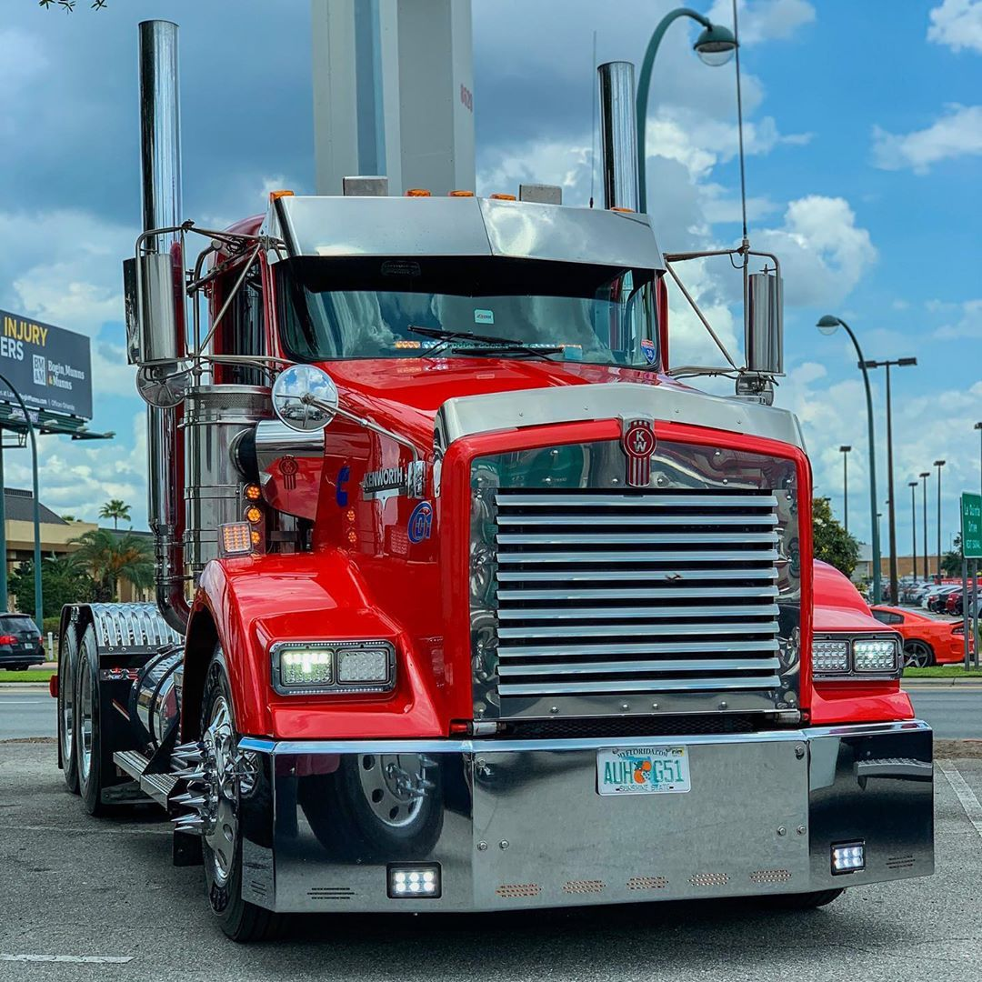 Diego On Instagram Trucks Truck Kenworth Kenwortht800
