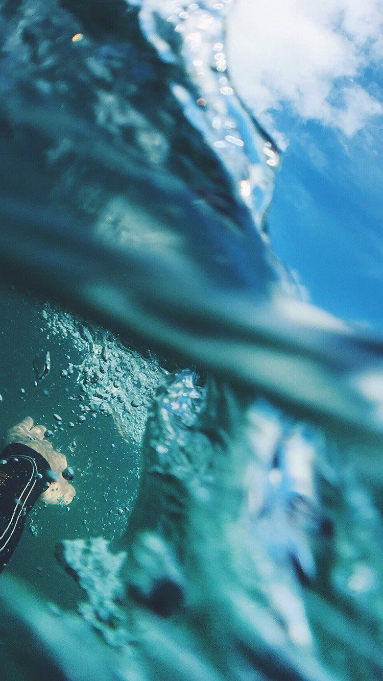 Nl97 Sea Blue Nature Swim Underwater Summer Wallpaper Iphone Summer Iphone Wallpaper Hd Nature Nature Iphone Wallpaper