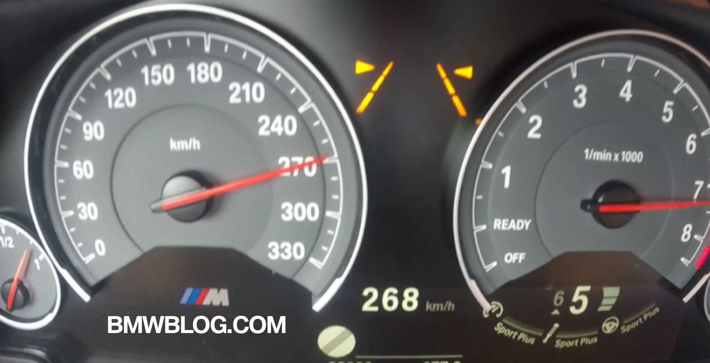 See The Bmw M4 Convertible Reaching 270 Km H