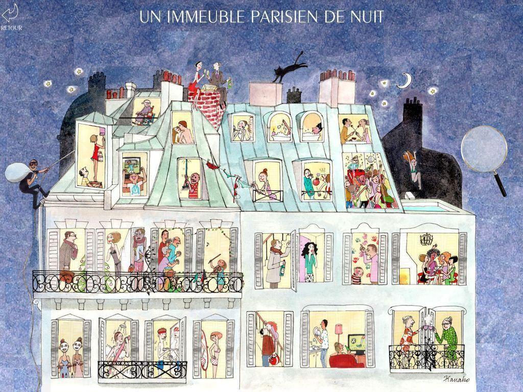 Inspiration board my little paris kanako illustration - Dessin parisienne ...