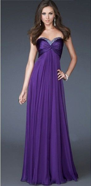 Blue/Purple/Green Prom Dress Bridesmaid FormaL Party Evening Gown6/8 ...