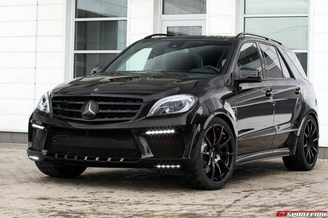 For sale mercedes benz ml 63 amg inferno by topcar cars for Mercedes benz bicycle for sale