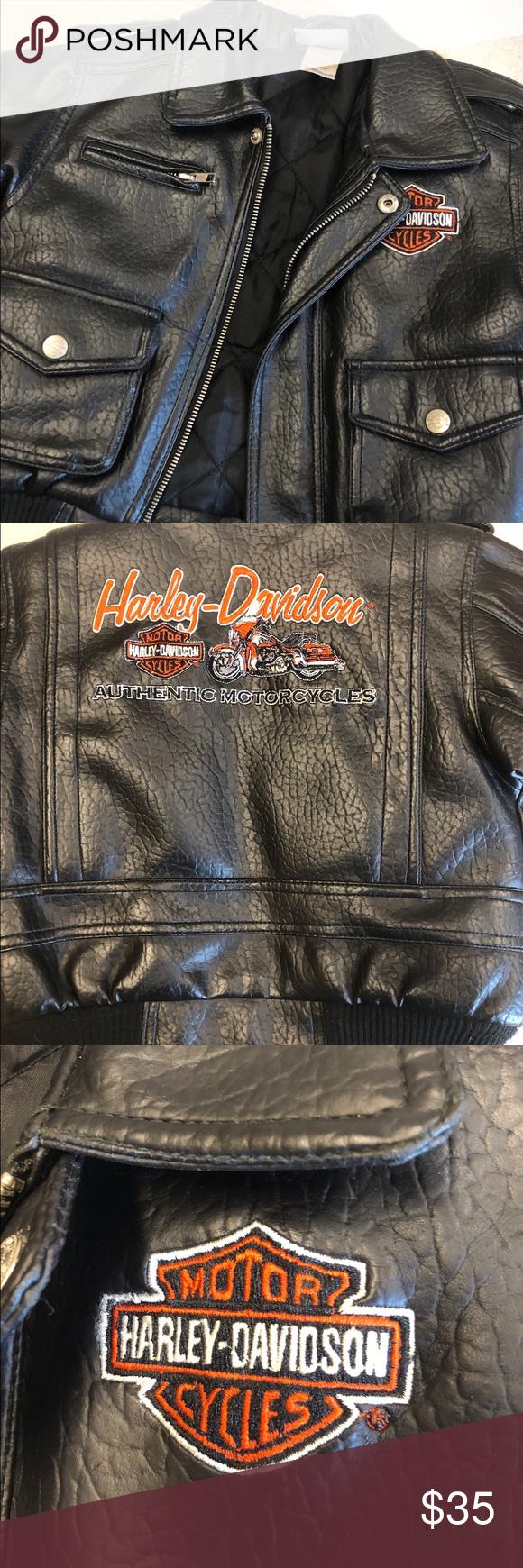 Toddler Harley Davidson Leather Jacket Harley Davidson Leather Jackets Leather Jacket Jackets [ 1740 x 580 Pixel ]