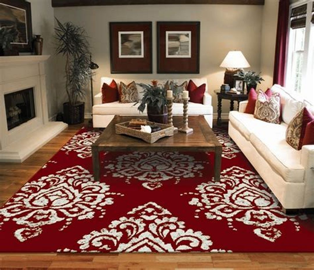 Red Rugs Ideas For Your Living Room