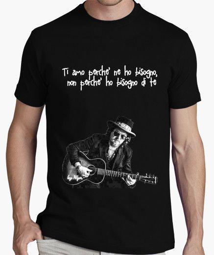 T-shirt ZUCCHERO su nero