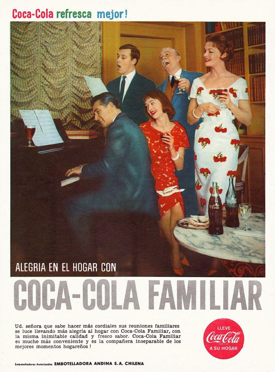 Aviso De Cocacola Chile 1960 Disenonacional Cl Painting Art