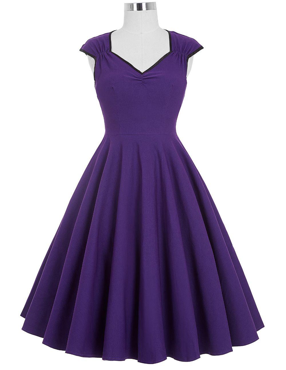 Find More Dresses Information about Women Dress 2016 Robe Vintage ...