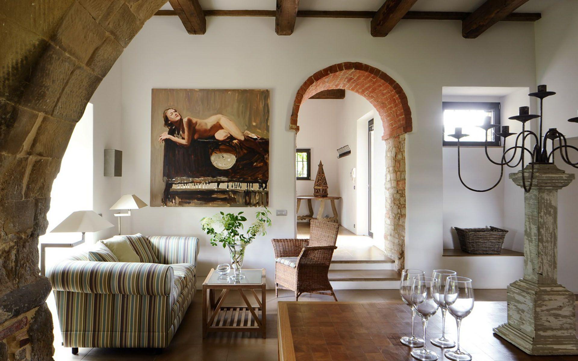 Luxury Villa Villa Lauro Umbria Italy Europe Photo#6305 Cool Italian Living Room Design Inspiration