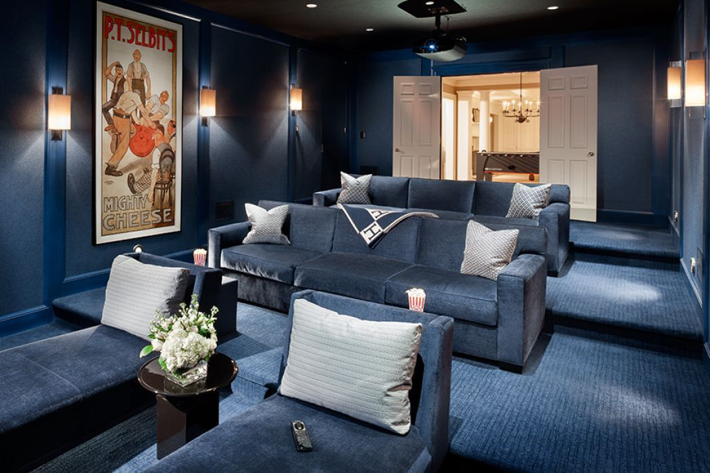The Right Home Theater Colors Home Theater Rooms Home Theater