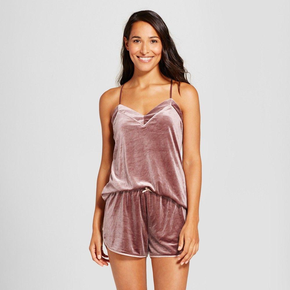 99ba99925b9e Women s Velour Pajama Set - Rose L
