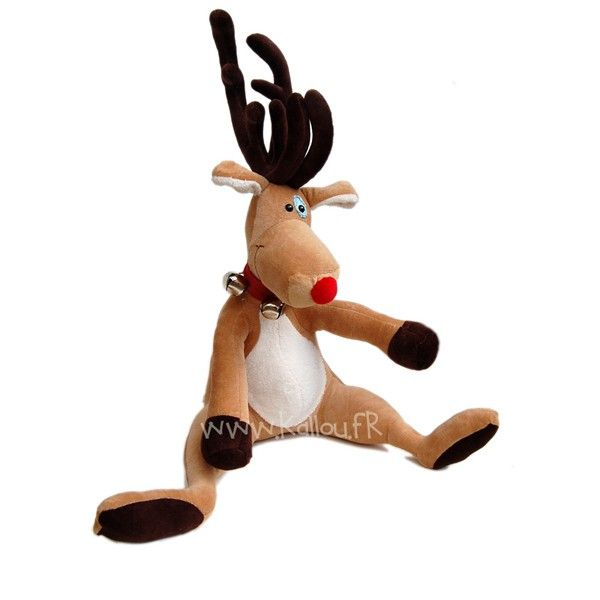 Rudy the christmas deer! Pattern and tutorial | muñecos | Pinterest