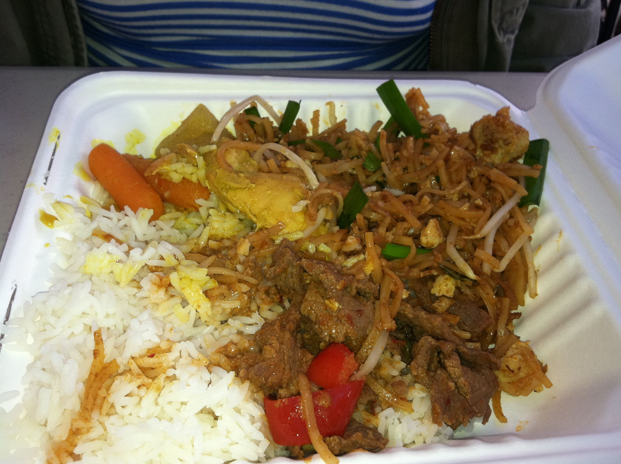 Every sunday the thai temple in berkeley puts on a brunch