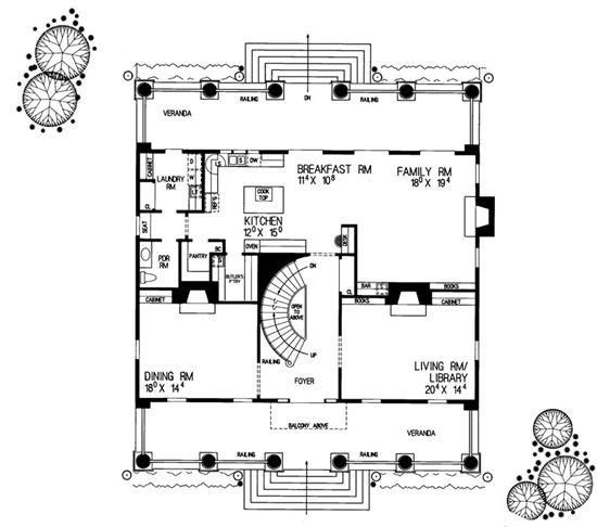 Farmhouse House Plans Home Design Hw 3500 18322 Colonial House Plans House Plans Farmhouse Farmhouse Floor Plans