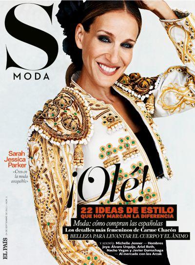 Primera portada de S Moda