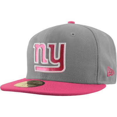 New York Giants Pink New Era 59FIFTY Breast Cancer Awareness Hat ... 5a4455751