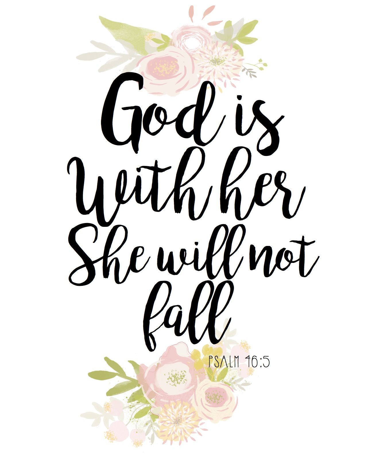 God Is With Her Free Printable Baptism Quotes Bible Baptism Girl Baptism Quotes