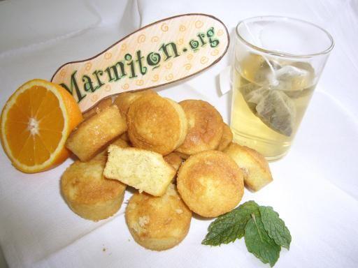 Recette de Mini-muffins fondants à l'orange
