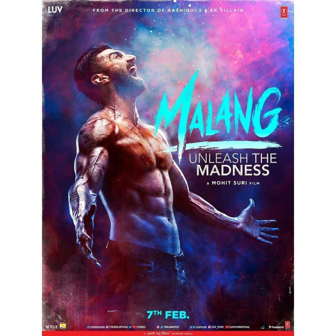 Malang Unleash The Madness First Look Movie Poster Out In 2020 Roy Kapoor Hd Movies Download Download Movies