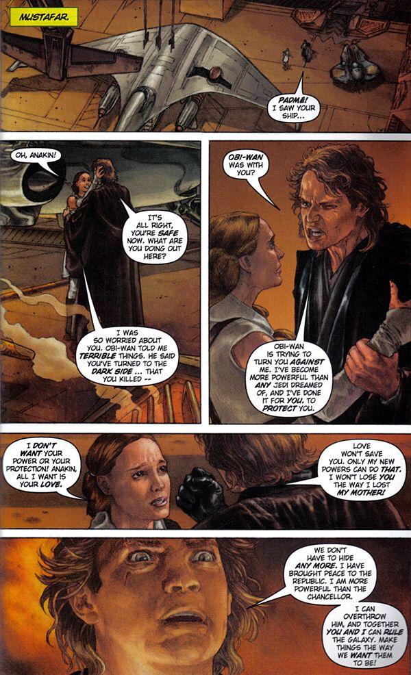 Star Wars Revenge Of The Sith Graphic Novel Star Wars Graphic Novel Stars