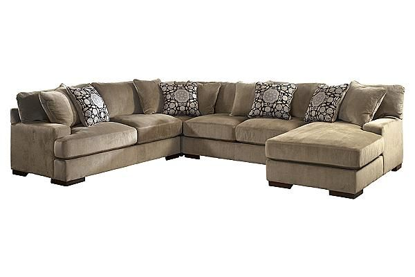 The Grenada - Mocha Sectional from Ashley Furniture HomeStore (AFHS.com). With  sc 1 st  Pinterest : grenada sectional ashley furniture - Sectionals, Sofas & Couches