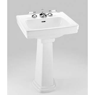 Toto Lpt532 4n Promenade Pedestal Bathroom Sink Sink With 4