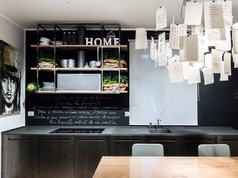 D90 Basalt kitchen by TM Italia Cucine | kitchen | Pinterest ...