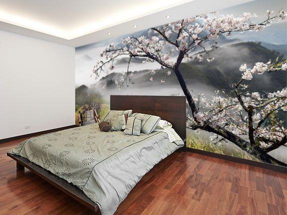 Japanese Walkway Wallpaper Wallsauce Uk Wall Murals Large Wall Murals Mural Wallpaper
