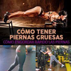 Cómo Tener Piernas Gruesas Cómo Engordar Rápido Las Piernas La Guía De Las Vitaminas Glutes Workout Workout Health And Wellness Center