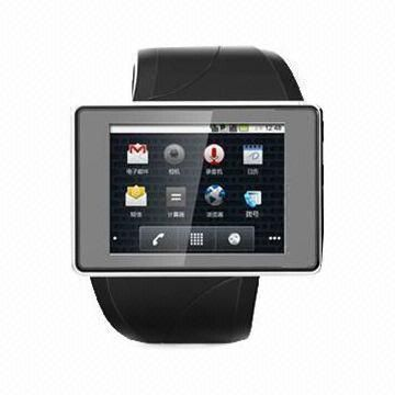 Hot product Smart watch phone, Android 4.0, 4GB ROM, 200W camera, Wi-Fi, Bluetooth 4.0,