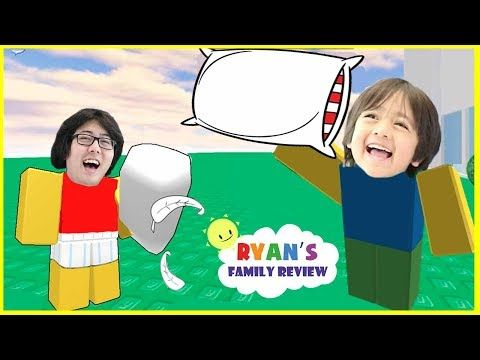 Roblox Pillow Fight Let S Play Family Game Night With Ryan S