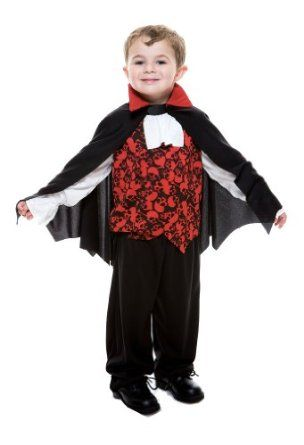 ## VERY Cute ##: Paper Magic Group Vampire Toddler With Cape Costume