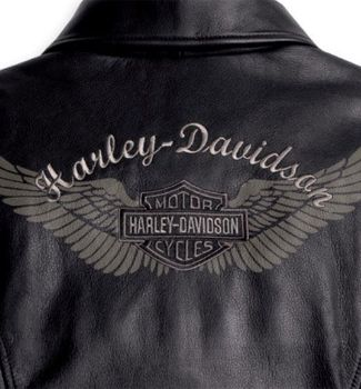 Harley Davidson Women/'s Venos Perforated Leather Jacket with Coolcore Technology