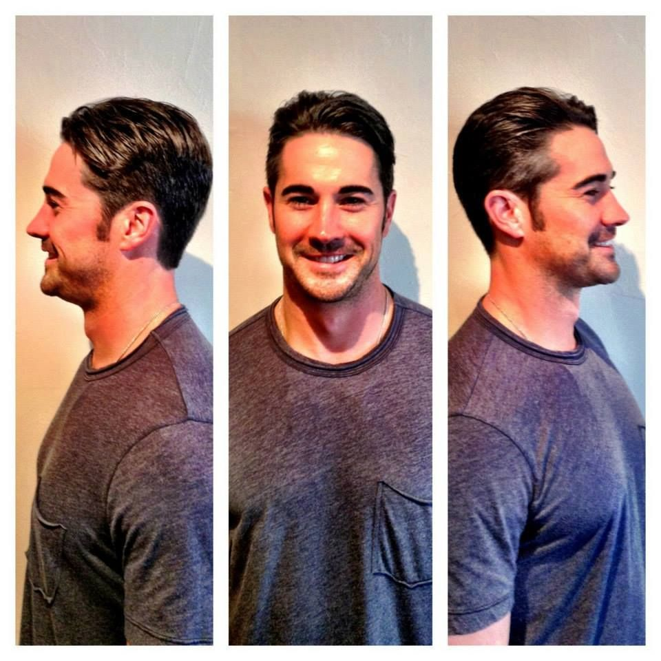 Mens Haircut By Samuel At Our Downtown Austin Wild Orchid Salon