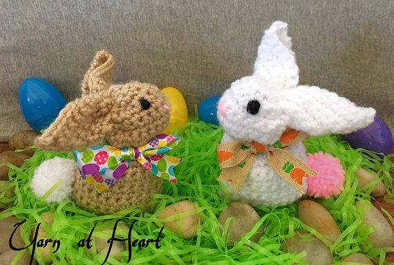 Crochet baby easter bunnies small stuffed bunny easter gift stuffed crochet baby easter bunnies small stuffed bunny easter gift stuffed animal plush negle Images