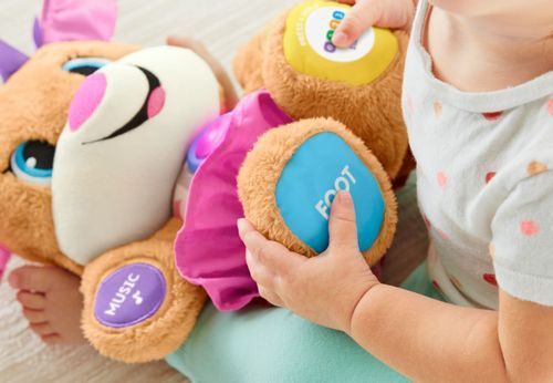 Fisher-Price - Laugh & Learn Smart Stages Sis Plush Toy ...